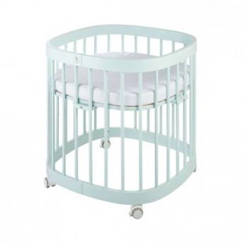 Кроватка многофункциональная 7 в 1 Tweeto 70x122 Tiffany мятный