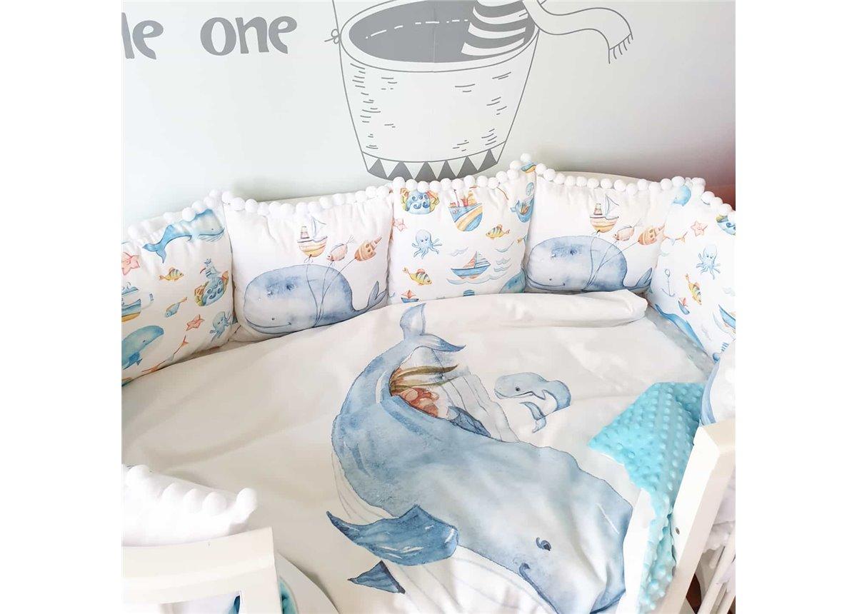Одеяло и пододеяльник Китеныш и мама BunnyMom