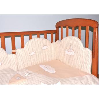 Постельный комплект Veres Sleepyhead Бежевый (6 предметов)