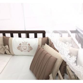 Комплект Royal шоколад (7 предметов) Маленька Соня