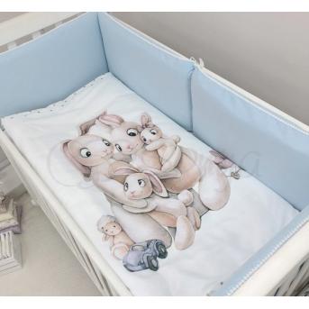 Комплект Семейка голубой (6 предметов) Маленькая Соня