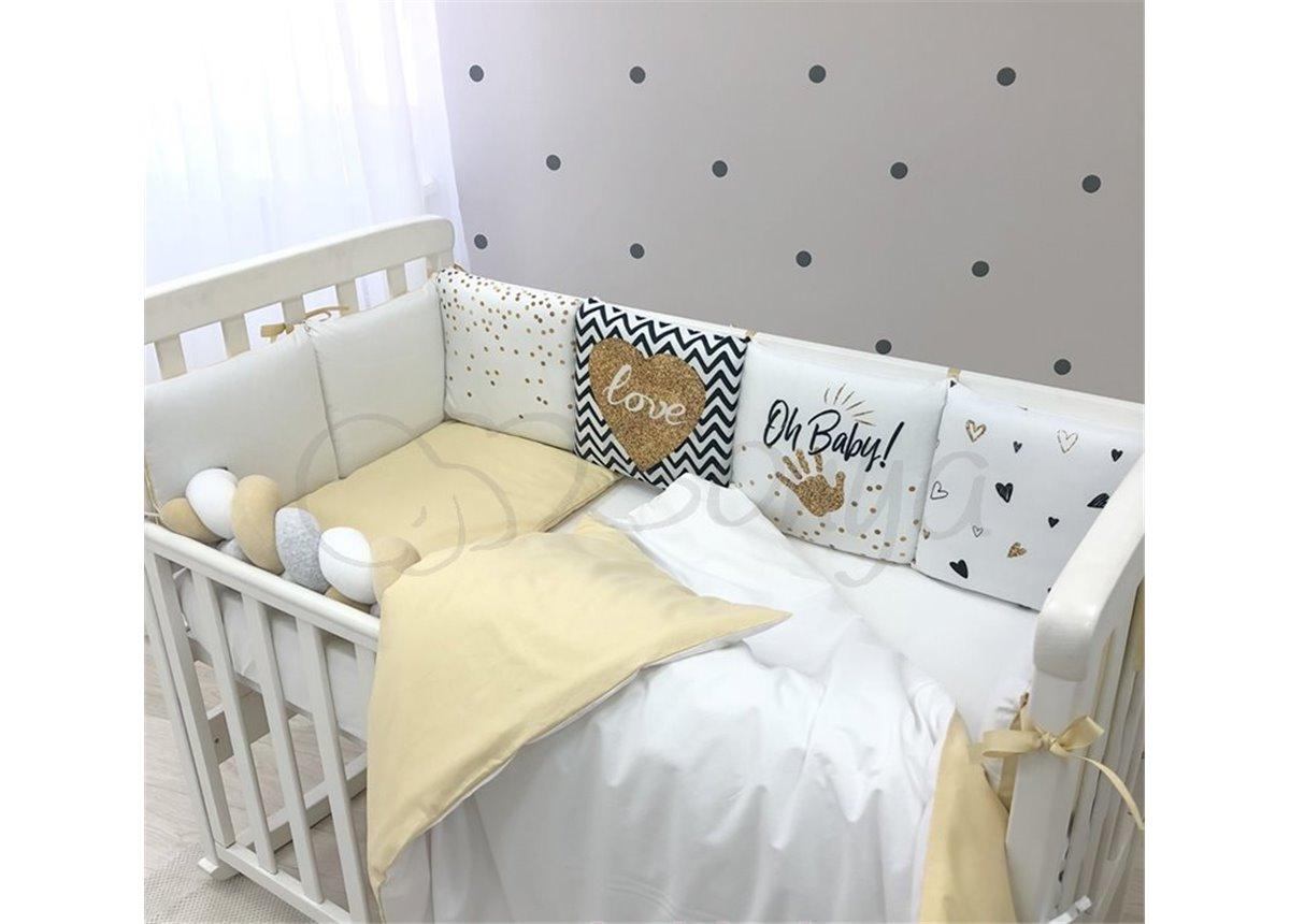 Комплект Art Design Oh Baby золотой (6 предметов) Маленькая Соня