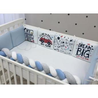 Комплект Art Design Машинки голубой (6 предметов) Маленькая Соня