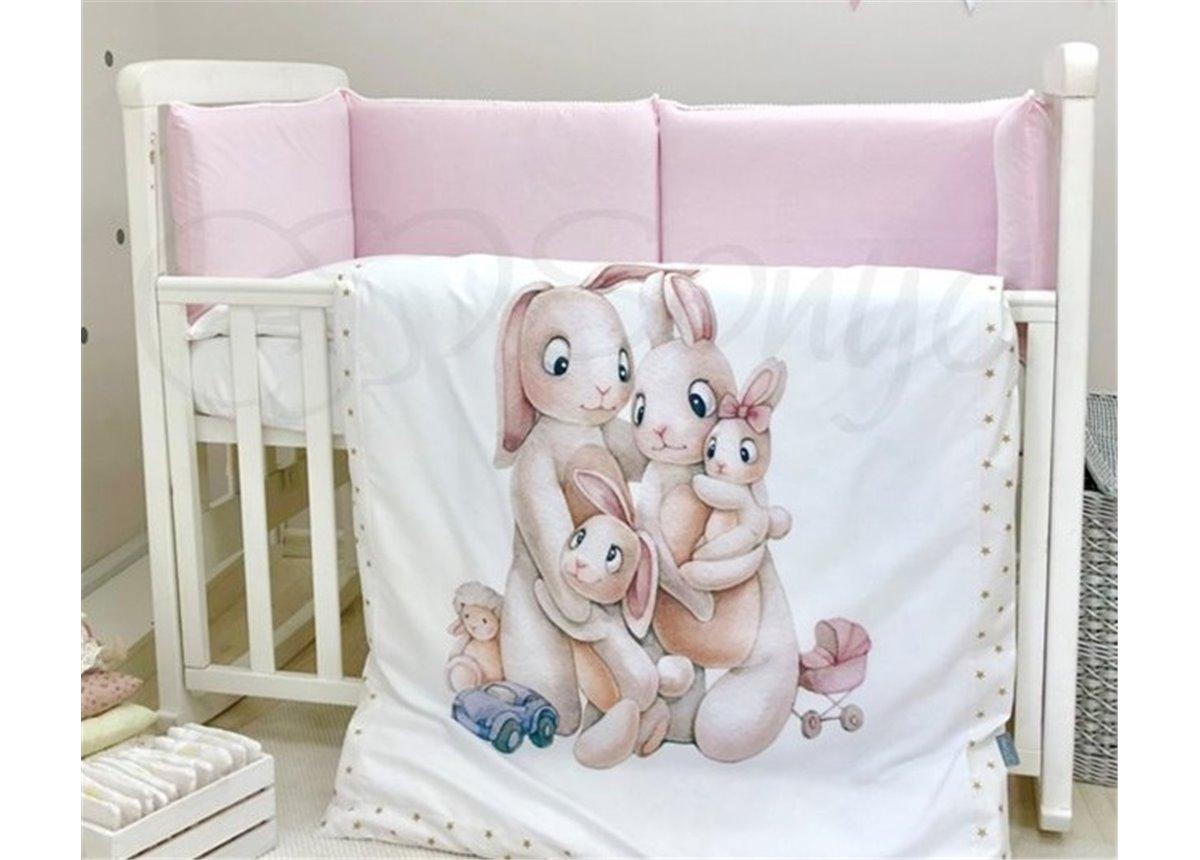 Комплект Семейка розовый (6 предметов) Маленькая Соня