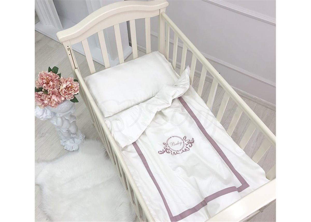Сменный комплект постельного белья Belissimo пудра Маленькая Соня