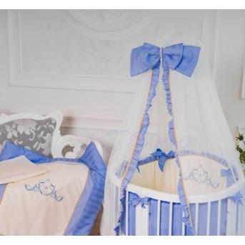 Комплект Mon Amie (6 предметов) голубой