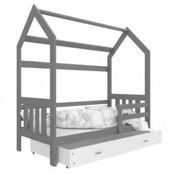 Кровать ДОМИК 2 Fmebel KA с ящиком