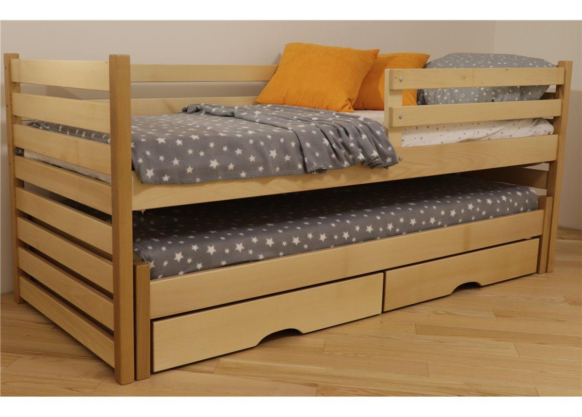 Кровать Симба с выдвижным спальным местом 80x190