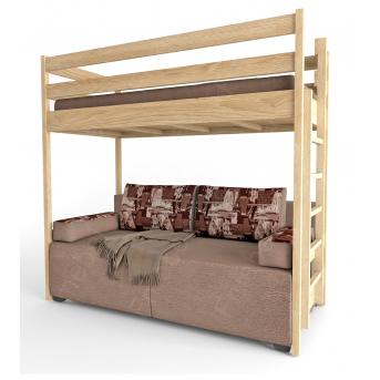 Кровать-чердак с диваном Fmebel