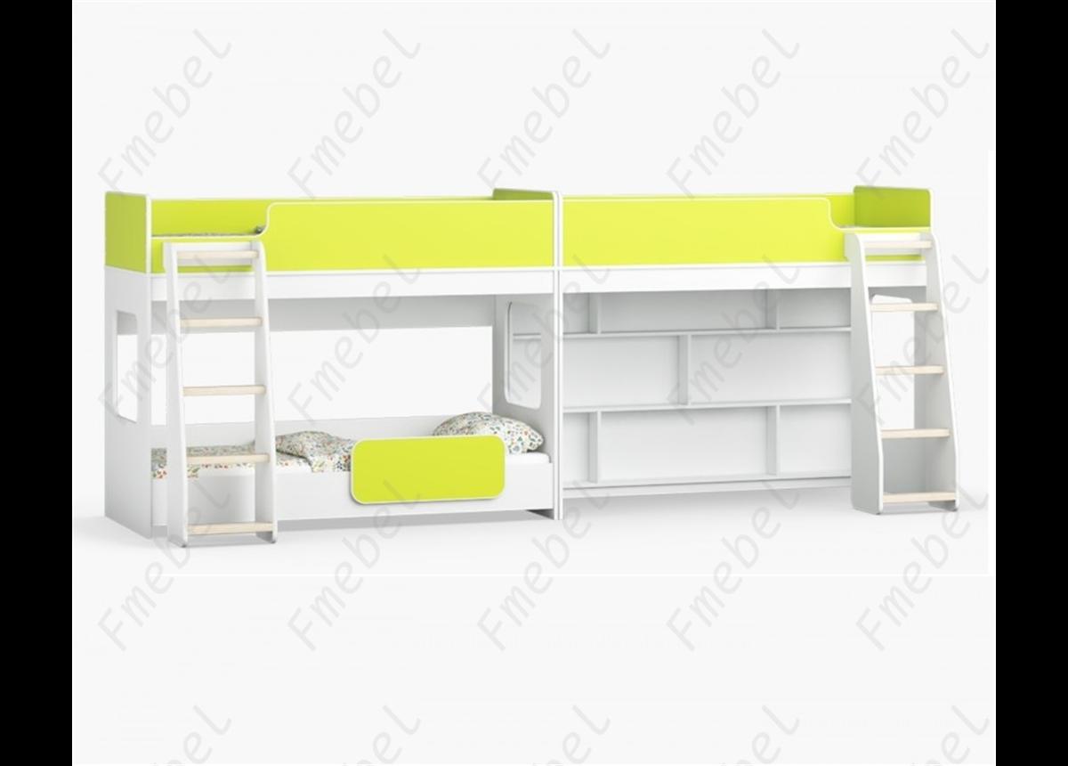 Кровать для троих детей Эль-Пасо Fmebel 80x190