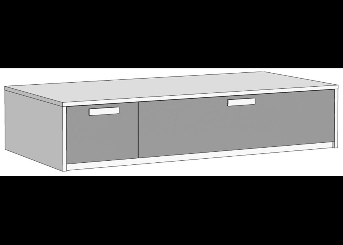 Кровать-диван с 2 ящиками (схема) 2 Fmebel