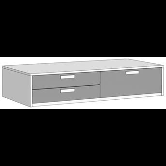 Кровать-диван с 3 ящиками (схема) 3 Fmebel