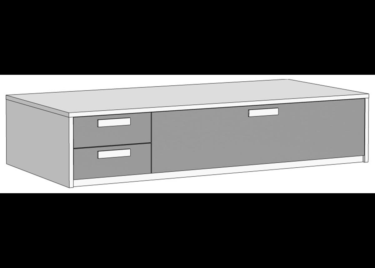Кровать-диван с 3 ящиками (схема) 4 Fmebel