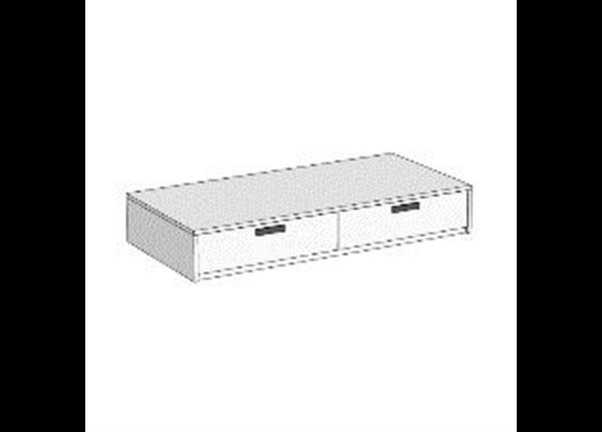 Кровать-диван с 2 ящиками (схема) 3 Fmebel