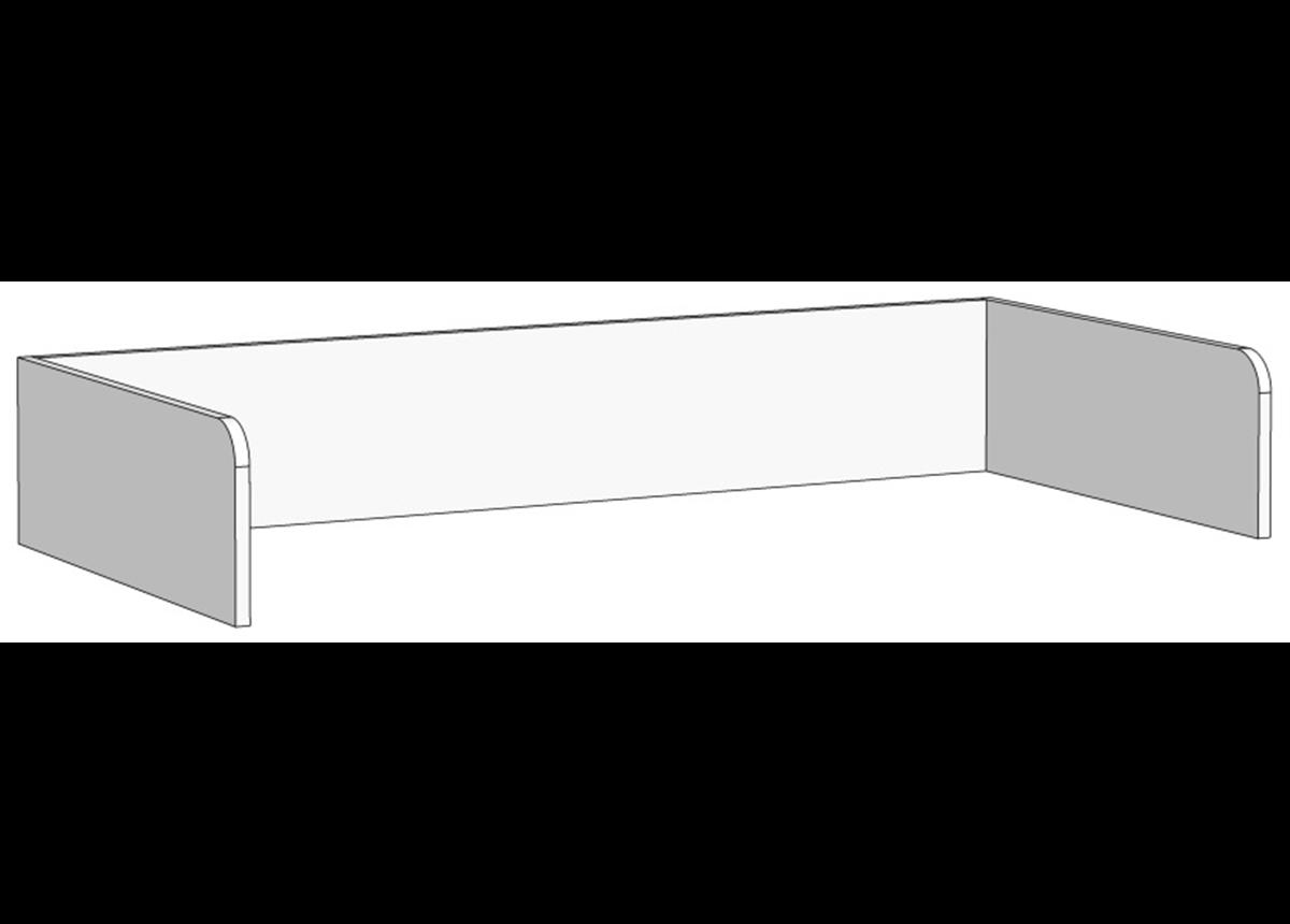 Борт П-образный для кроватей (схема) Fmebel