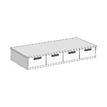 Кровать-диван с 4 ящиками (схема) 4 Fmebel
