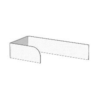 Борт Г-образный с ограничителем для кроватей (схема) 2 Fmebel