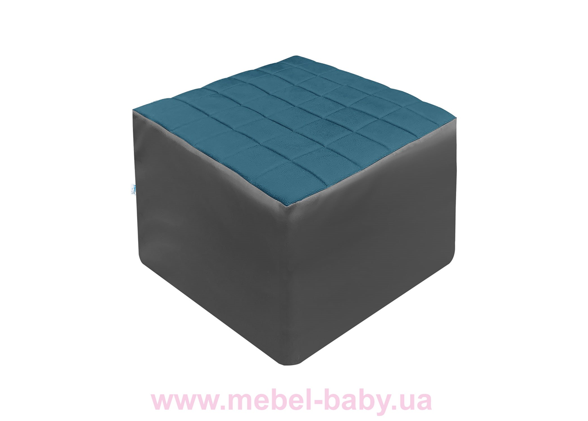 Распродажа 935 Пуф КУБ раскладной Meblik темно-синий