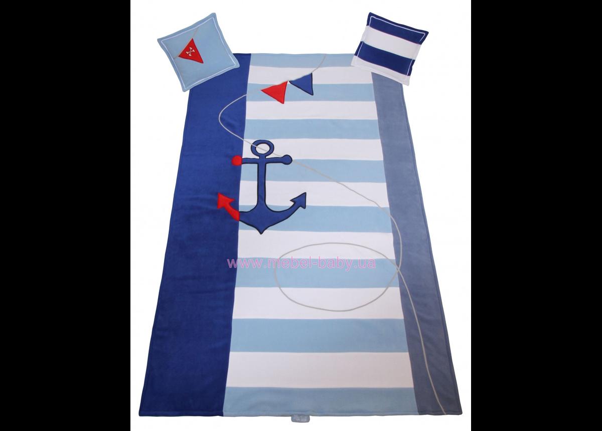 906_Покрывало и 2 подушки Pirate