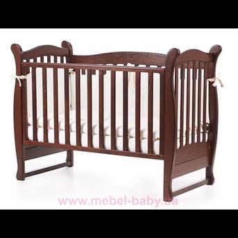 Кроватка Соня ЛД15 Верес 60х120 Орех