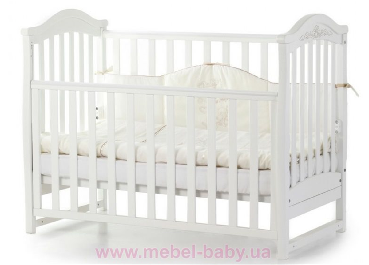 Кроватка Соня ЛД3 ЕС Верес 60х120 Белый