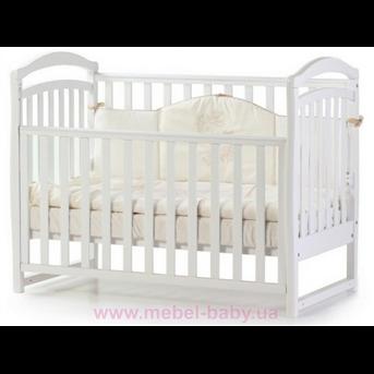 Кроватка Соня ЛД6 ЕС Верес 60х120 Белый