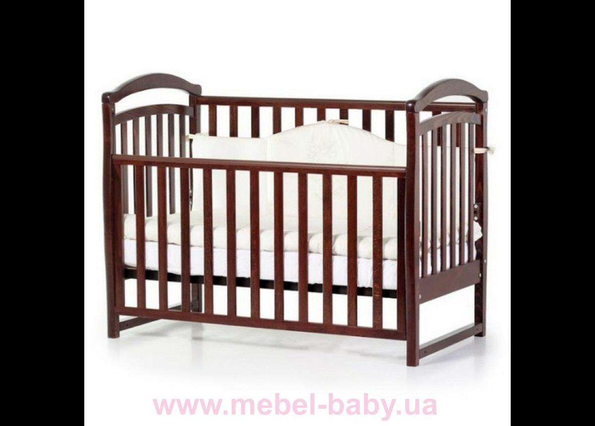 Кроватка Соня ЛД6 ЕС Верес 60х120 Орех