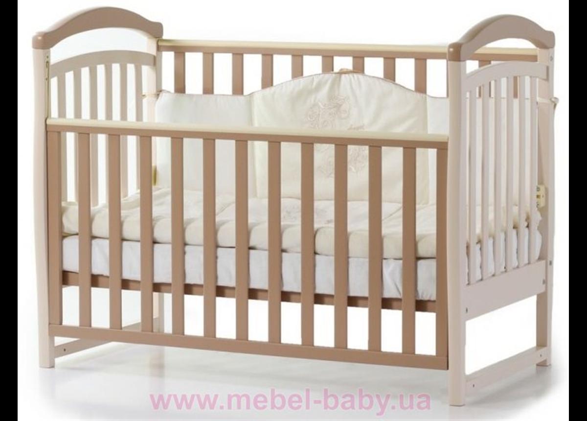 Кроватка Соня ЛД6 ЕС Верес 60х120 Капучино