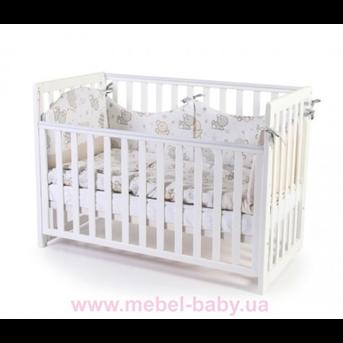 Кроватка Соня ЛД13 съемная спица Верес 60х120 Белый
