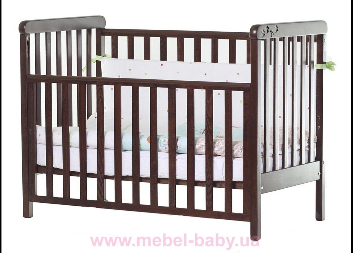 Кроватка Соня ЛД12 ЕС Верес 60х120 Орех