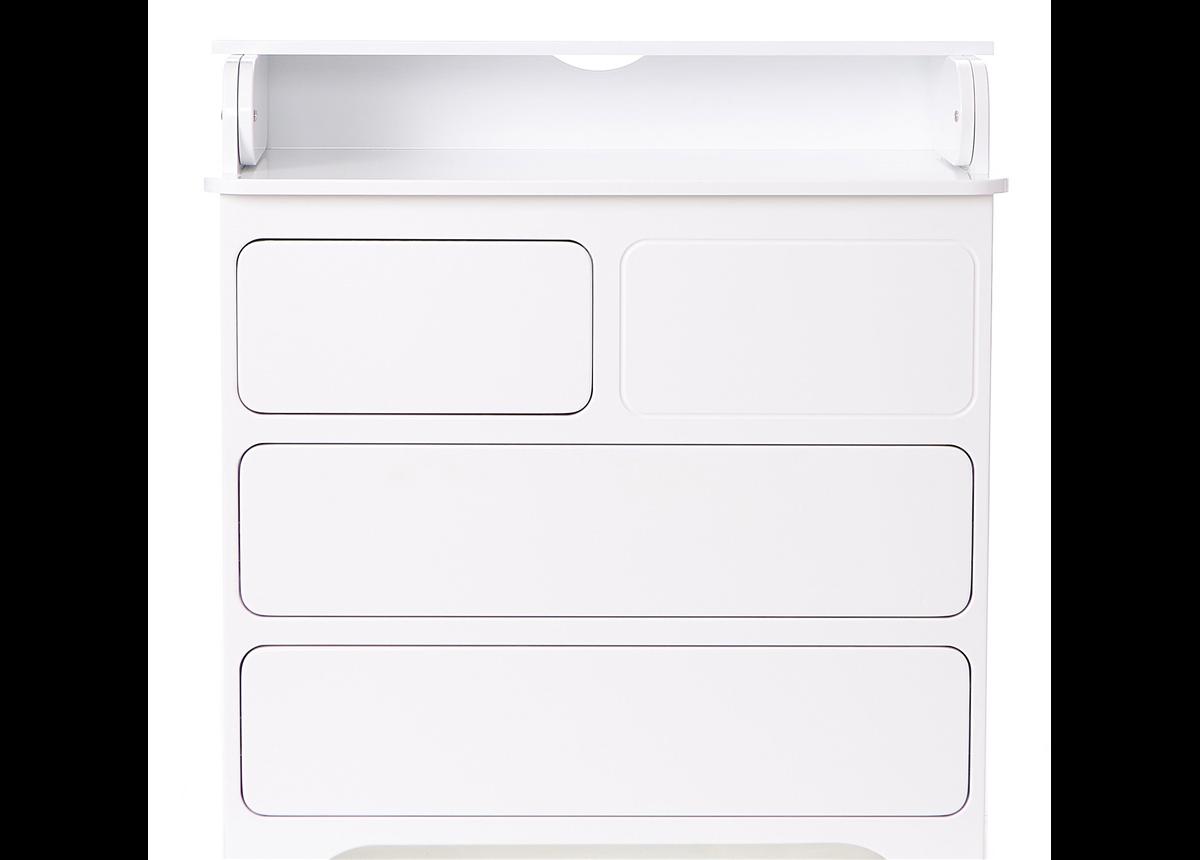 Комод-пеленатор Touch-Latch Стационарный пеленатор Верес 90 см белый