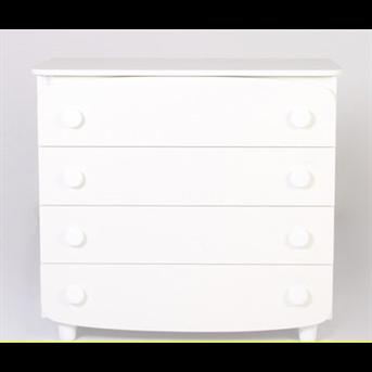 Комод под съемный пеленатор 900 Верес белый