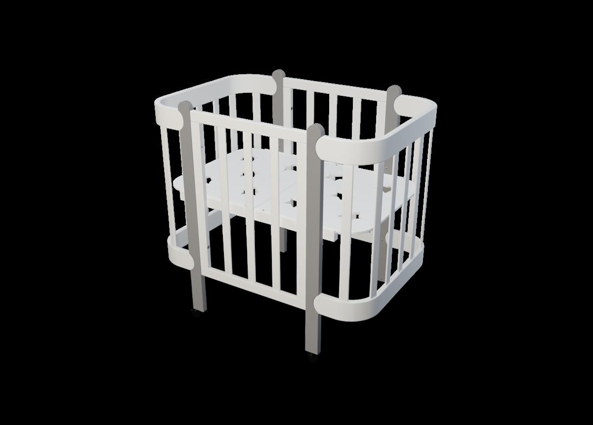 Кроватка-трансформер Ника IngVart 60/70x120
