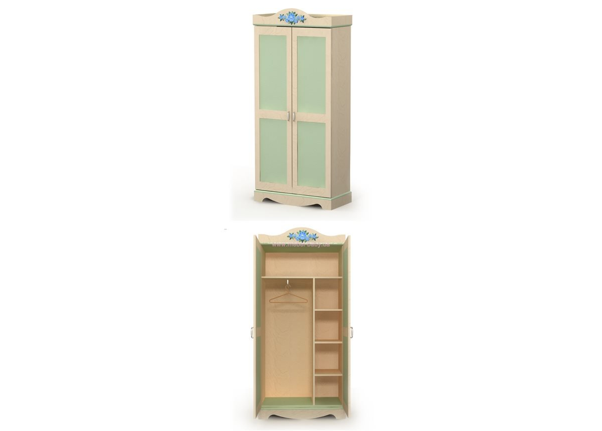 Двухдверный шкаф An-02-2