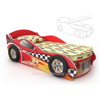 Кровать-машинка DR-11-70mp Briz 70x150