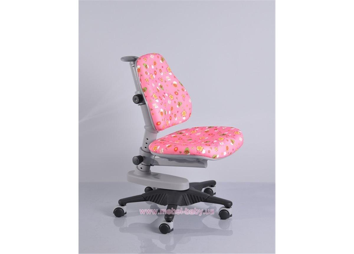 Кресло Newton PN (арт.Y-818 PN) Mealux обивка розовая со зверятами