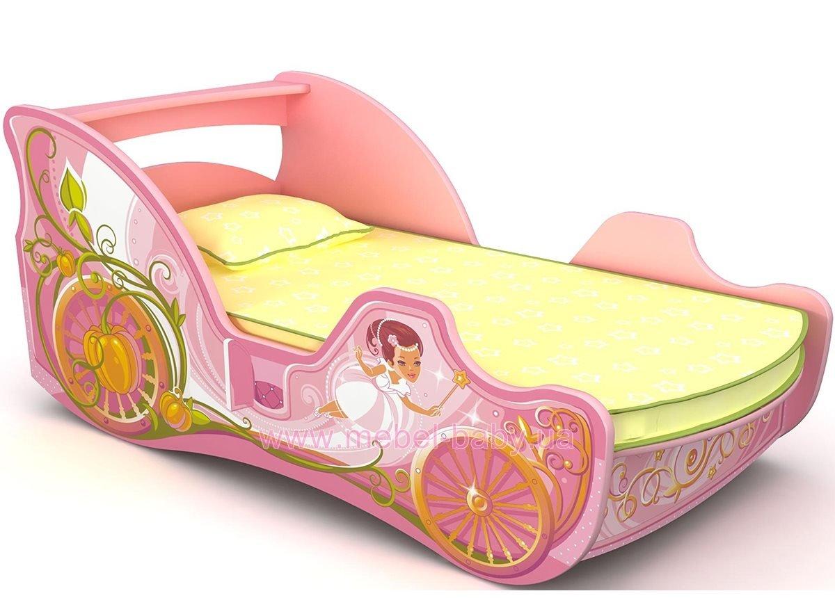 Кровать-карета Cn-11-80mp с ящиком