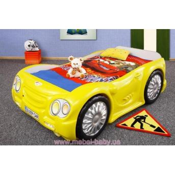 Кровать-машинка с матрасом Sleep Car Plastiko 80x190