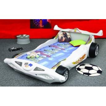 Кровать-машинка с матрасом Formula1