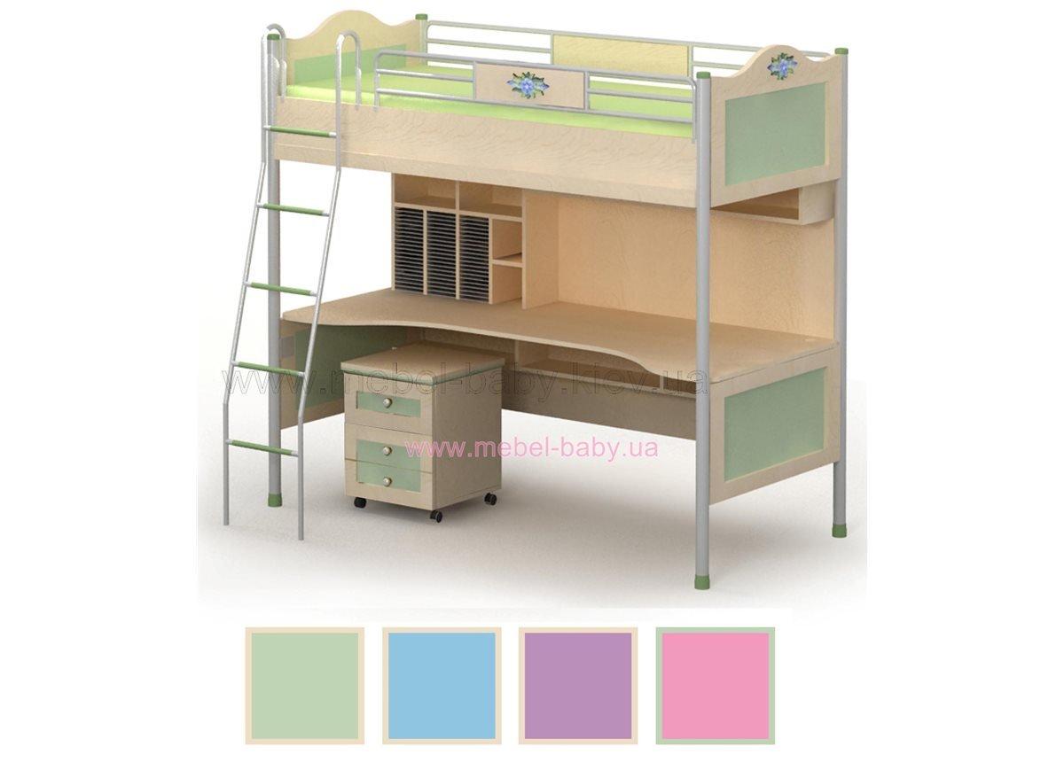 Кровать_стол Angel A-16-1 Бриз