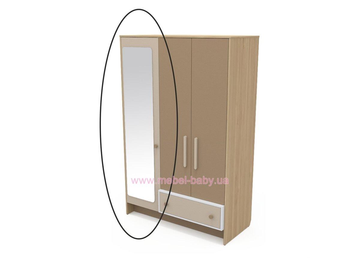 Зеркало к шкафу кв-07-3 Акварели Коричневые